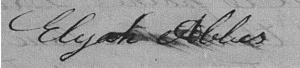 Elijah Abale Signature 1