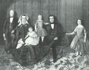 The Orson and Sarah Pratt Family, Courtesy Utah Historical Society