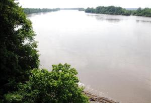 McIlwaine's Bend, Missouri River, 2012