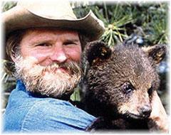 Jonathan the Bearman.  He carves bears.